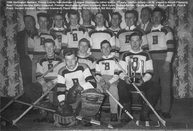Les Wellington Battlers en 1956